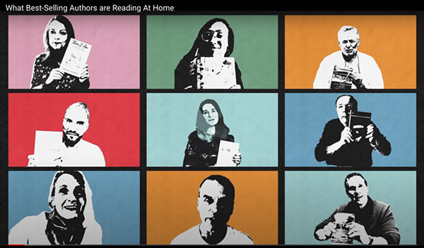 What Best-Selling Authors are Reading at Home